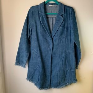 Soft Surroundings chambray jacket